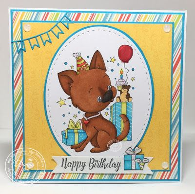 """High Hopes Stamps: February Challenge and New High Hopes Stamps Release """"Party Time"""""""