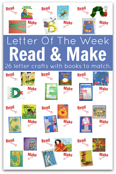 letter of the week books
