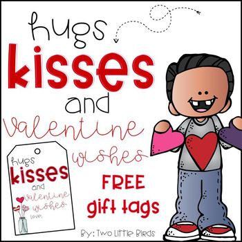 Valentine Gift Tags Free February Valentines Day Valentines