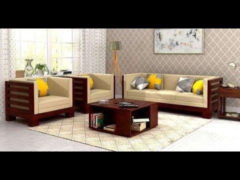 Wooden Sofa Set For Living Room 2018 Youtube Furniture Design