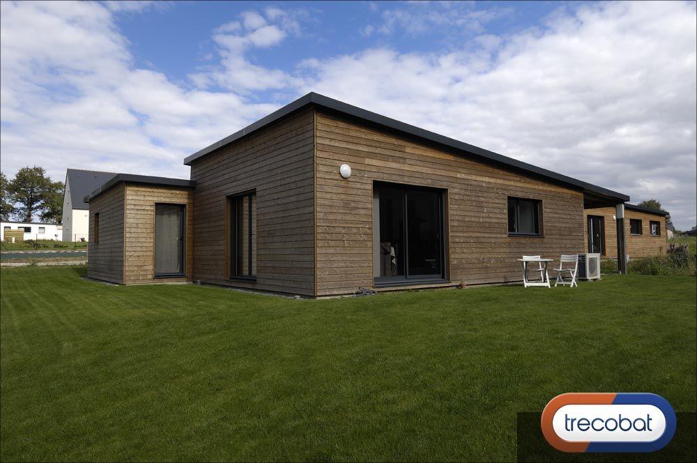 Bien connu Une maison en bois Trecobat | Réalisations Primobois | Pinterest  BE35