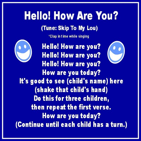 Hello how are you song circle time pinterest preschool songs hello how are you song m4hsunfo