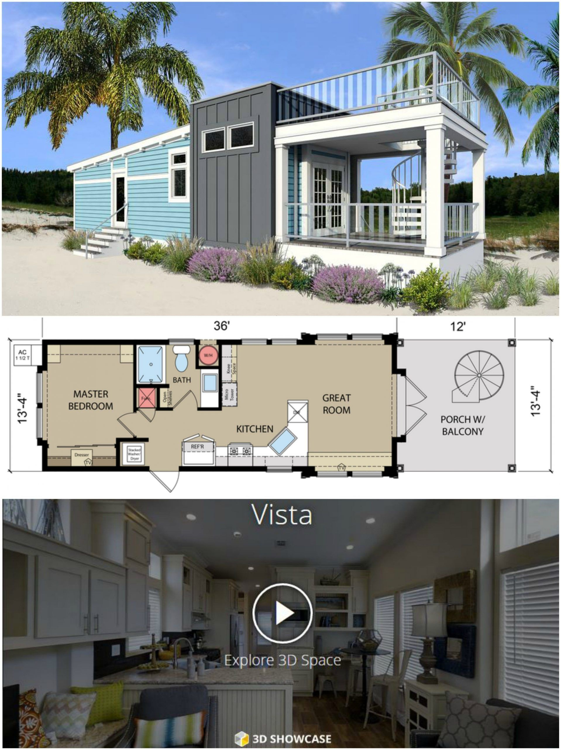 19 Delightful Coastal Kitchen Bath Ideas Rooftopterrace 3 Vibrant Tips And Tri Bath Coastal Delightful In 2020 Coastal Cottage Coastal Kitchen Tiny House Plans