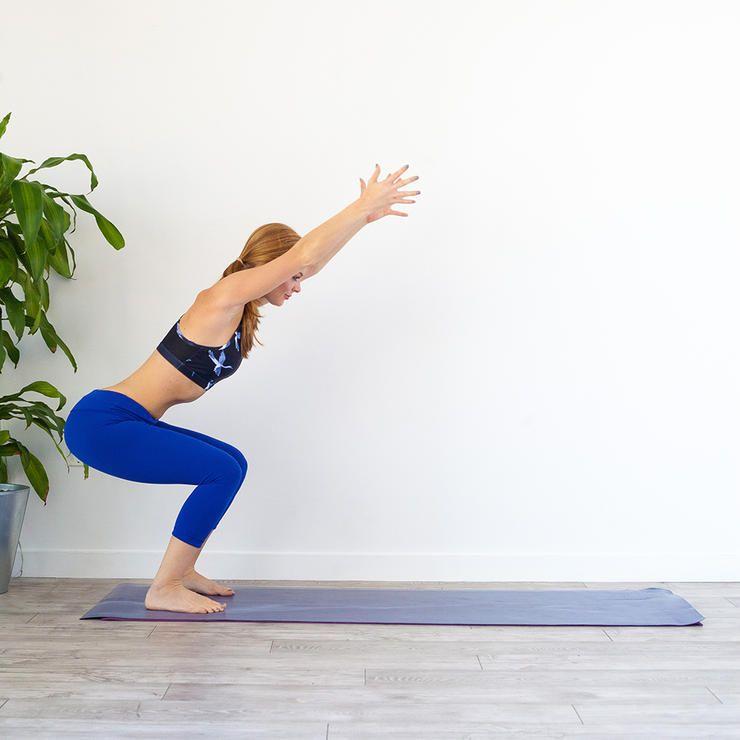 Yoga + HIIT Workout with Athleta | Nourish Move Love
