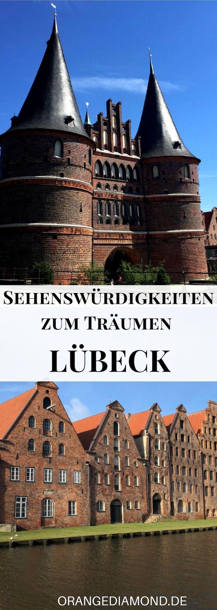 Entdecke Die Schonste Stadt Lubeck In Schleswig Holstein An Einem Tag Die Besten Tipps Und Sehendwurdigkeiten Fur Eine Urlaub In Deutschland Reisen Reiseziele
