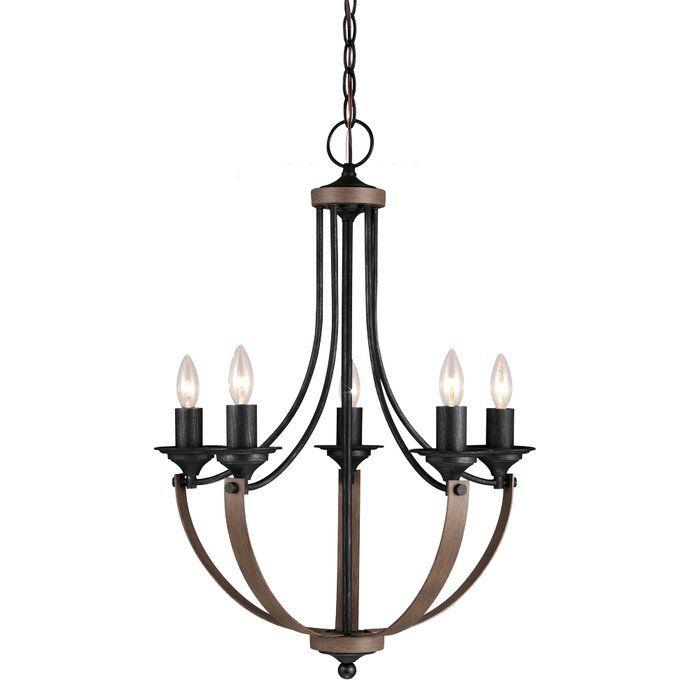 Kenna 5 light mini candle style chandelier mini chandelier kenna 5 light mini candle style chandelier aloadofball Gallery