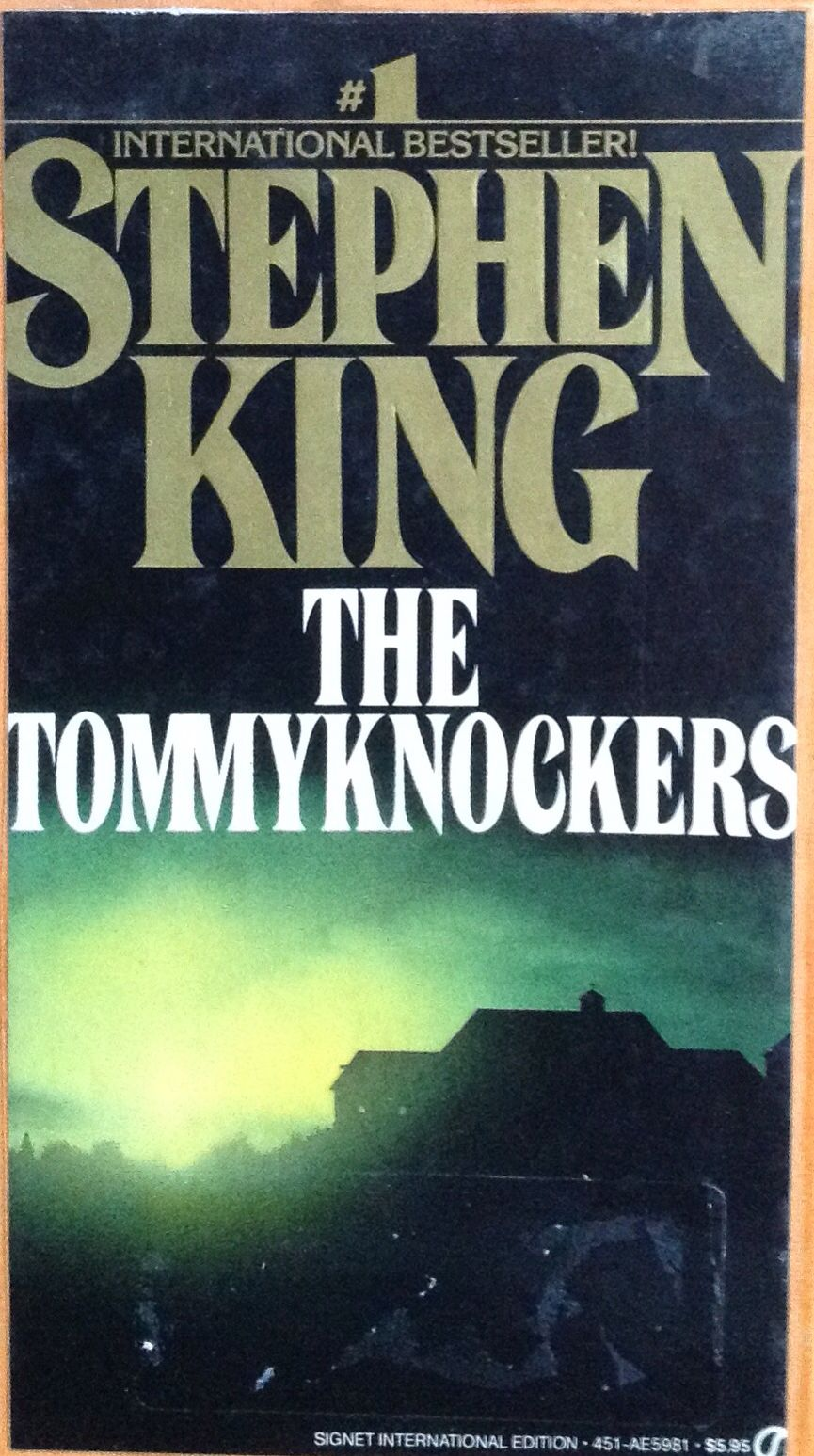 Stephen King: de gloed (engels) | Mijn boekenkast: Stephen King ...