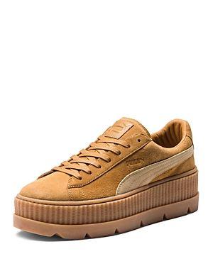 05ca7f0c4a17 FENTY X PUMA FENTY PUMA X RIHANNA WOMEN S SUEDE CLEATED PLATFORM SNEAKERS.   fentyxpuma  shoes