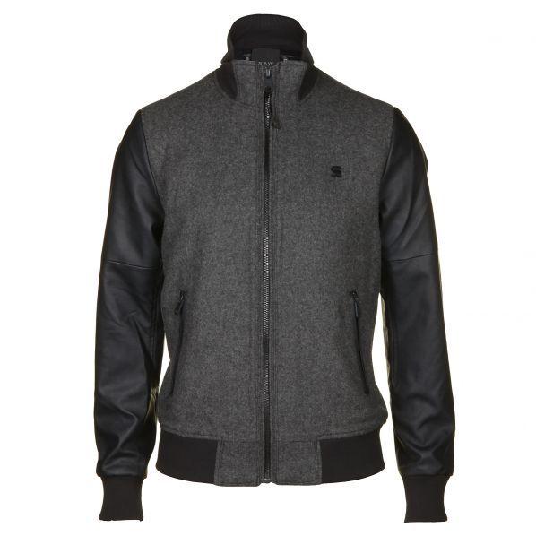 G Star Mens Gents Tailored Denim Jacket Coat Top Popper Button Zip Fastening