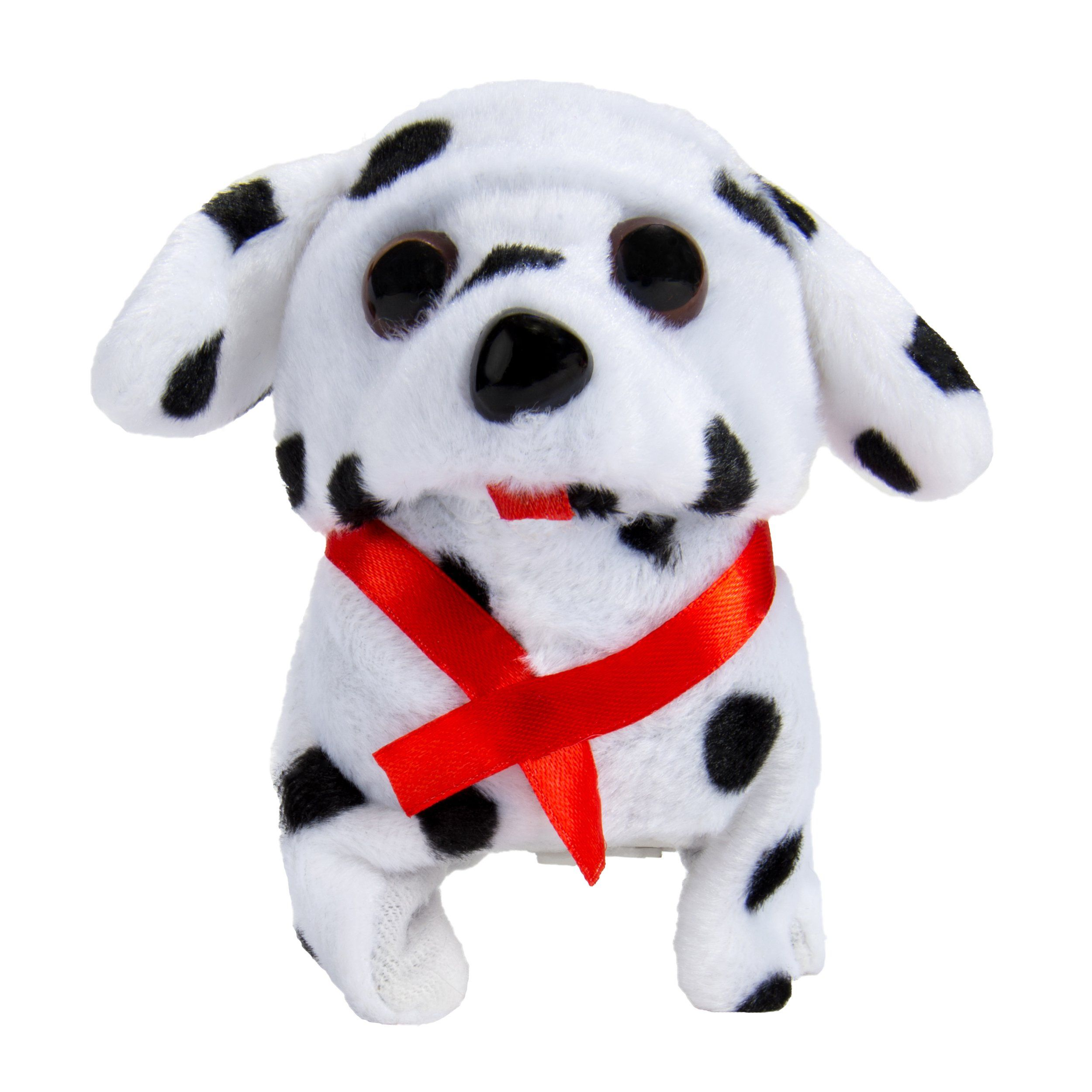 Sumaclife Childrens Electronic Walking And Barking Dalmatian Plush