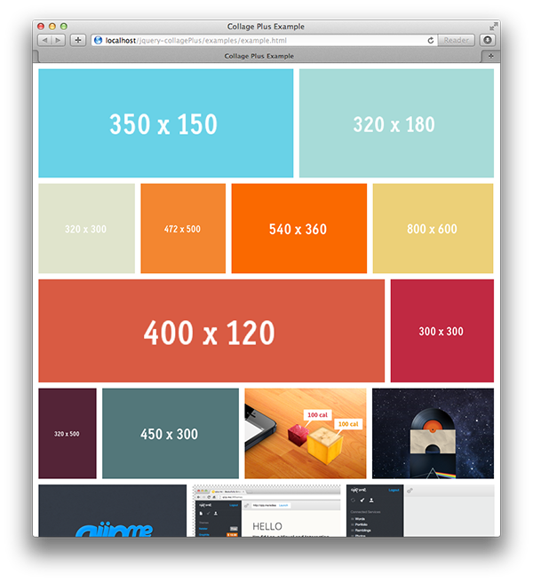 CollagePlus jQuery Plugin | Coding | Corporate website design, Web