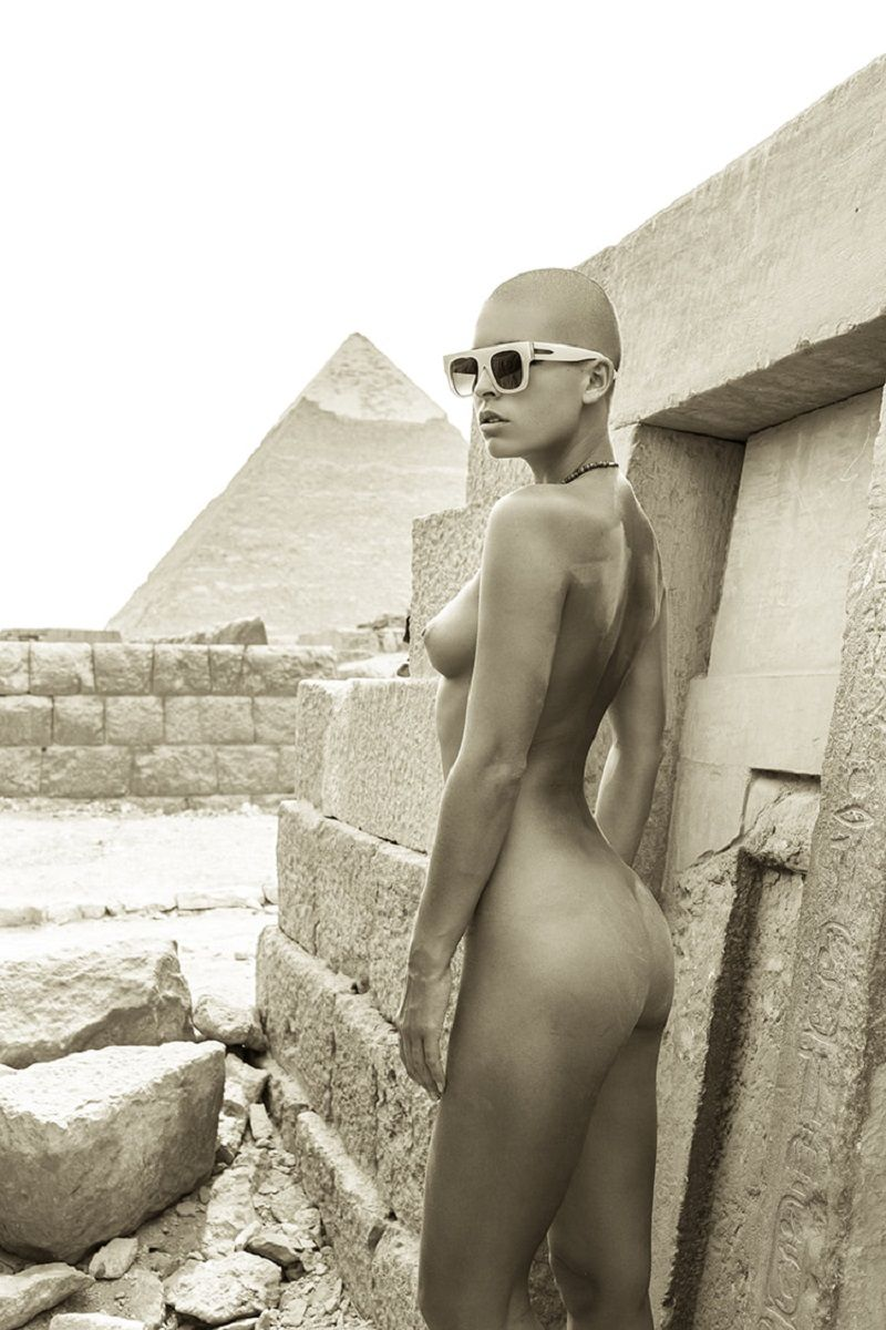 Egyptian nude models