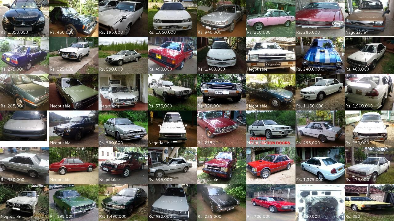 Mitsubishi Lancer Cars for sale on Riyasewana Mitsubishi