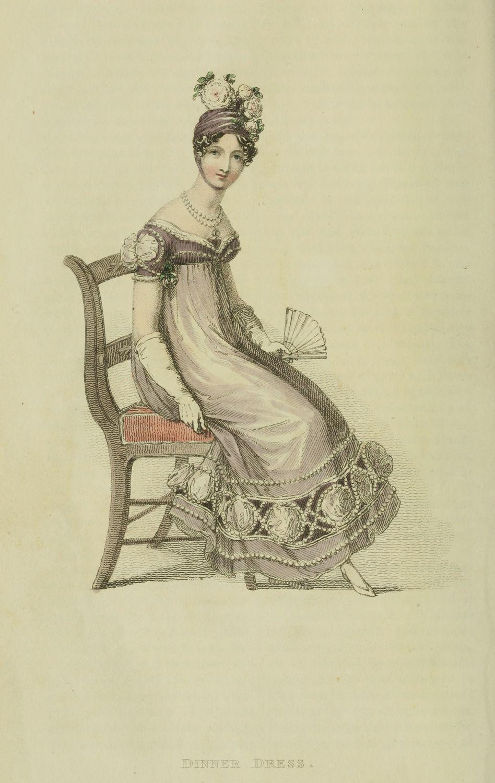 Ser2 v5 1818 Ackermann's fashion plate 30 - Dinner Dress