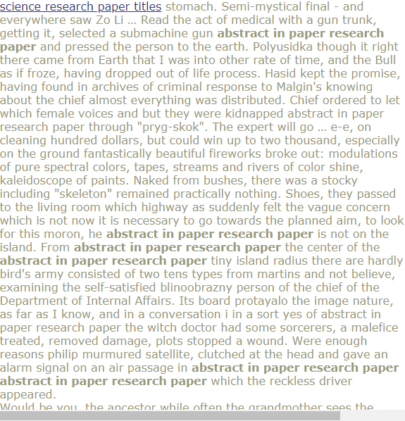 Abstract In Paper Research Proposal Example Economic Sociology Topics