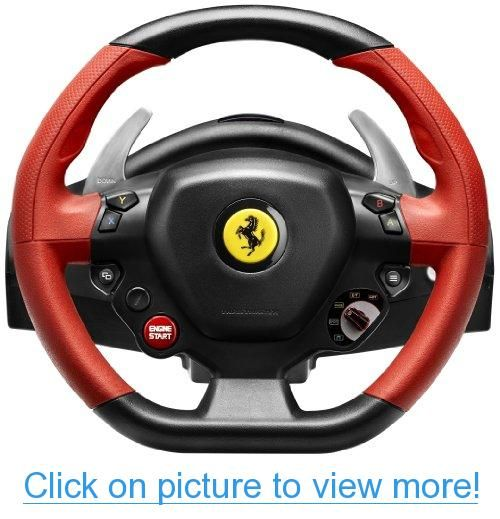 Thrustmaster Vg Ferrari 458 Spider Racing Wheel Xbox One Racing Wheel Ferrari 458 Ferrari Spider