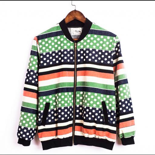جاكيتات جينز طويلة مخططة Adidas Jacket Athletic Jacket Fashion