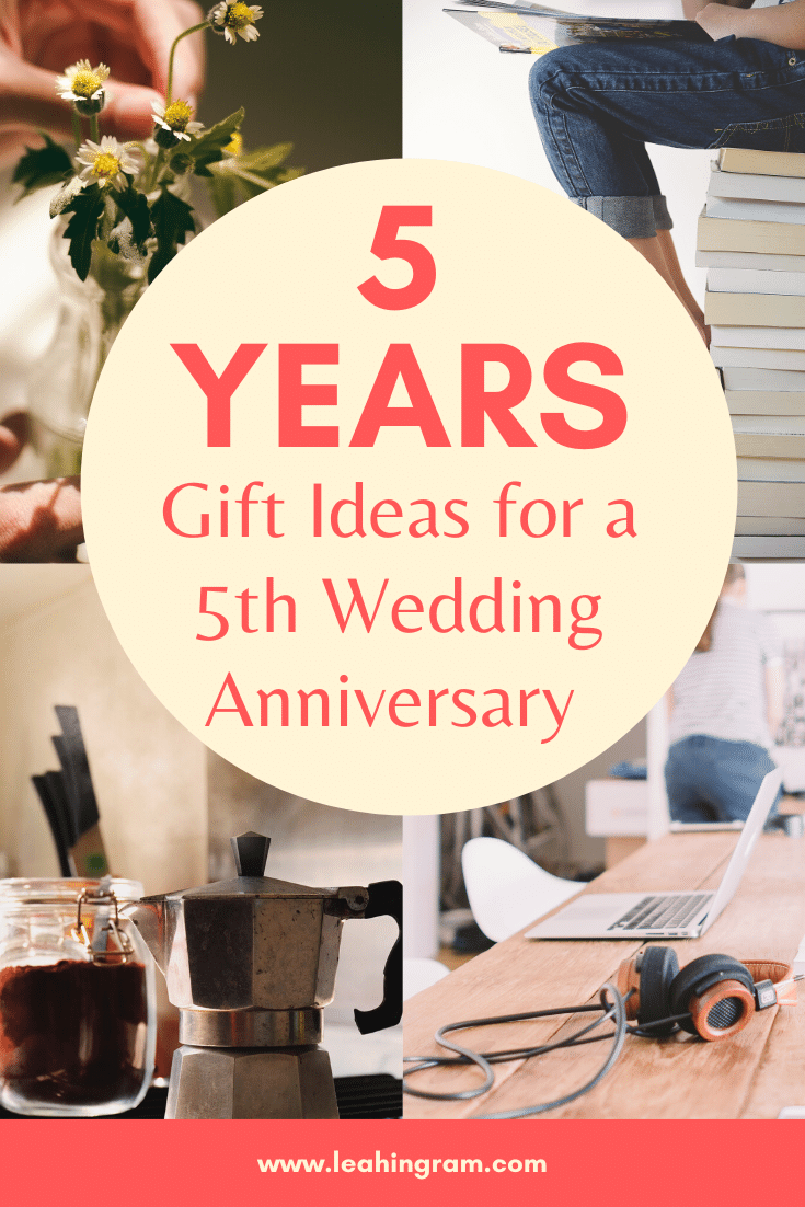 Married for 5 years? Congratulations! This blog offers