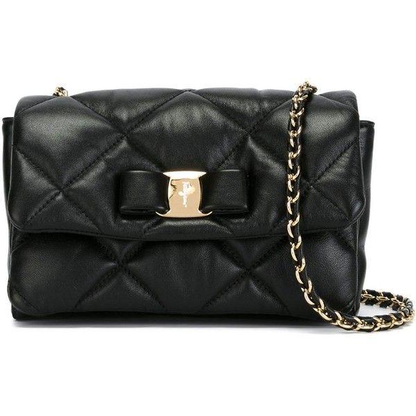 93a4c95821fe Salvatore Ferragamo Gelly Quilted Crossbody Bag (1