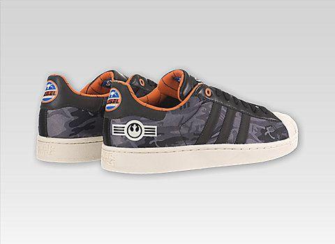 new 361a5 aaad3 star wars x adidas superstar ii rogue squadron rebel ... 7f003ab33b