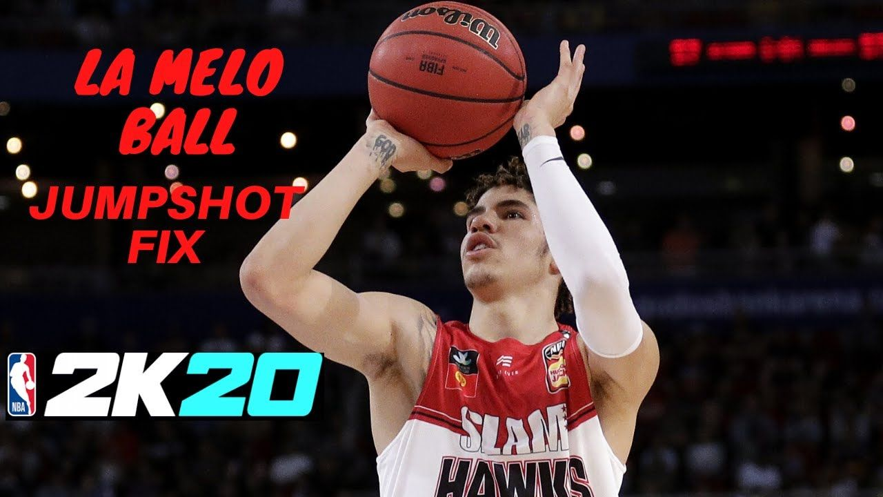 Lamelo Ball Jumpshot Fix 2k20 In 2020 Lamelo Ball Ball Youtube