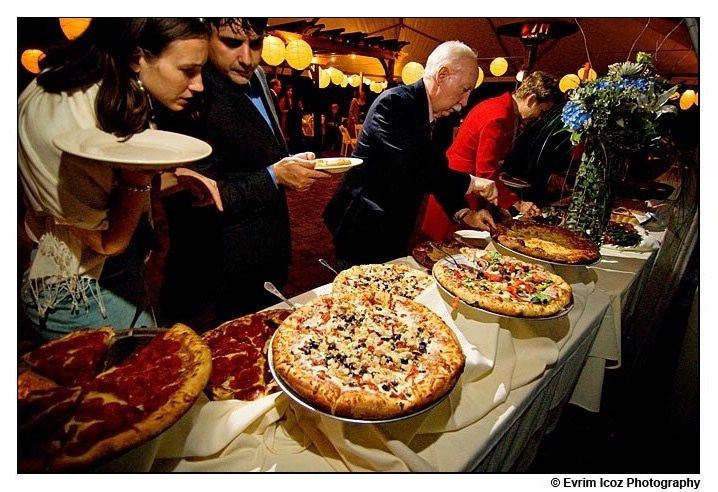 Pizza Party Reception
