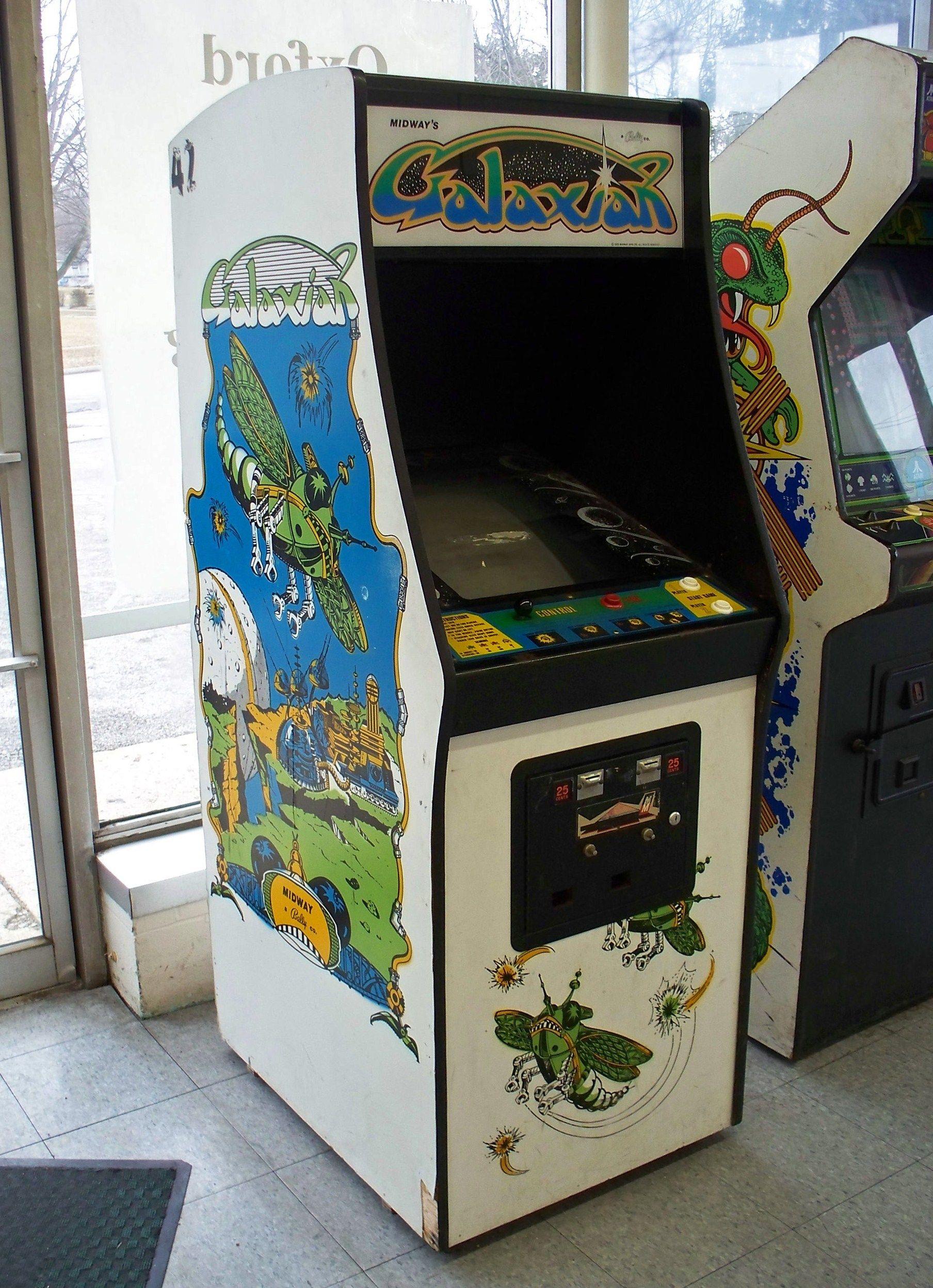 Grove City Galaxian Vintage video games, Arcade games