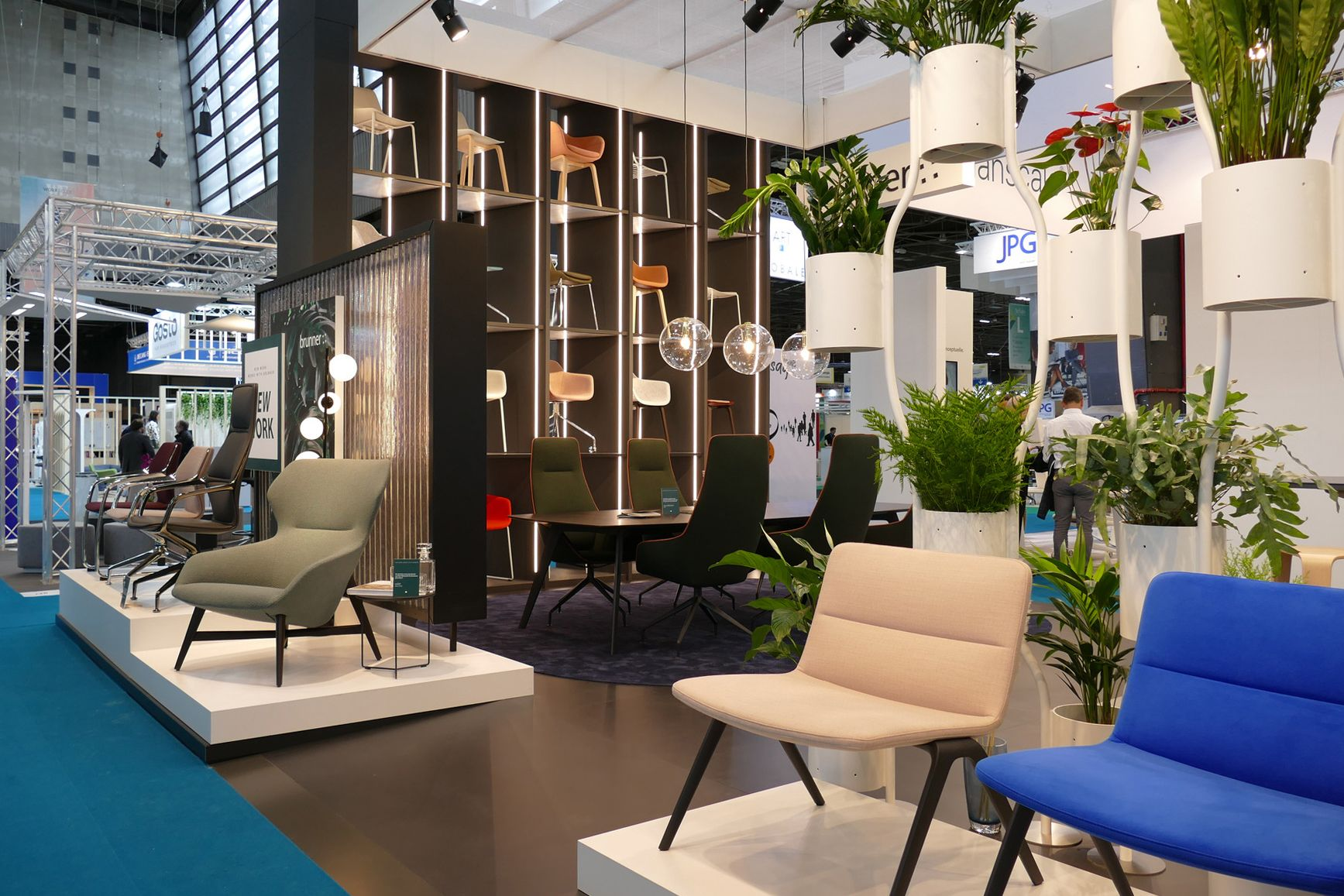 And Explore The Brunner Exhibition Stand At The Workspace Expo
