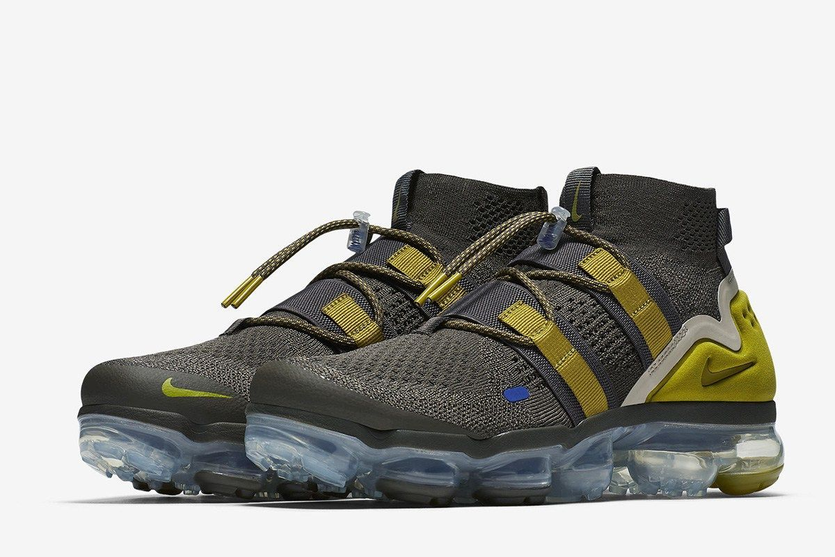 1d1be536bbb Nike Air VaporMax Flyknit Utility Ridgerock Peat Moss - EU Kicks  Sneaker  Magazine