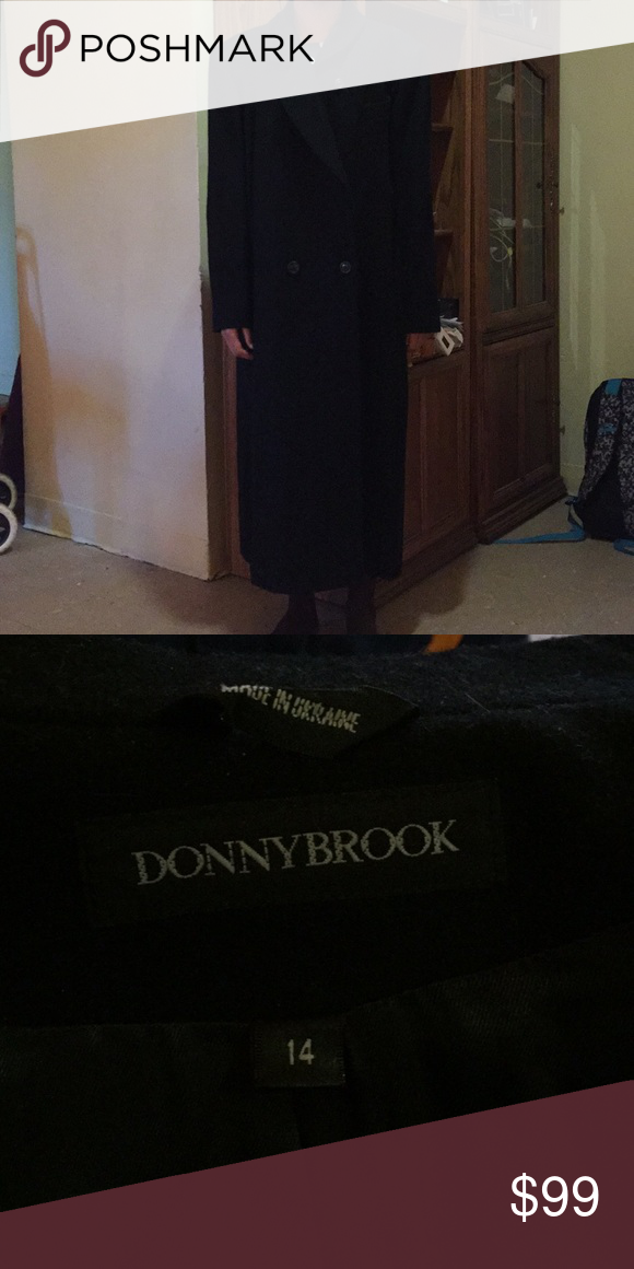 Donnybrook Wool Trench Coat 100 Macedonian Wool Size 14 Authentic Great Condition Full Length Donnybrook Jackets Coats Trench Wool Trench Coat Wool Coat Coat