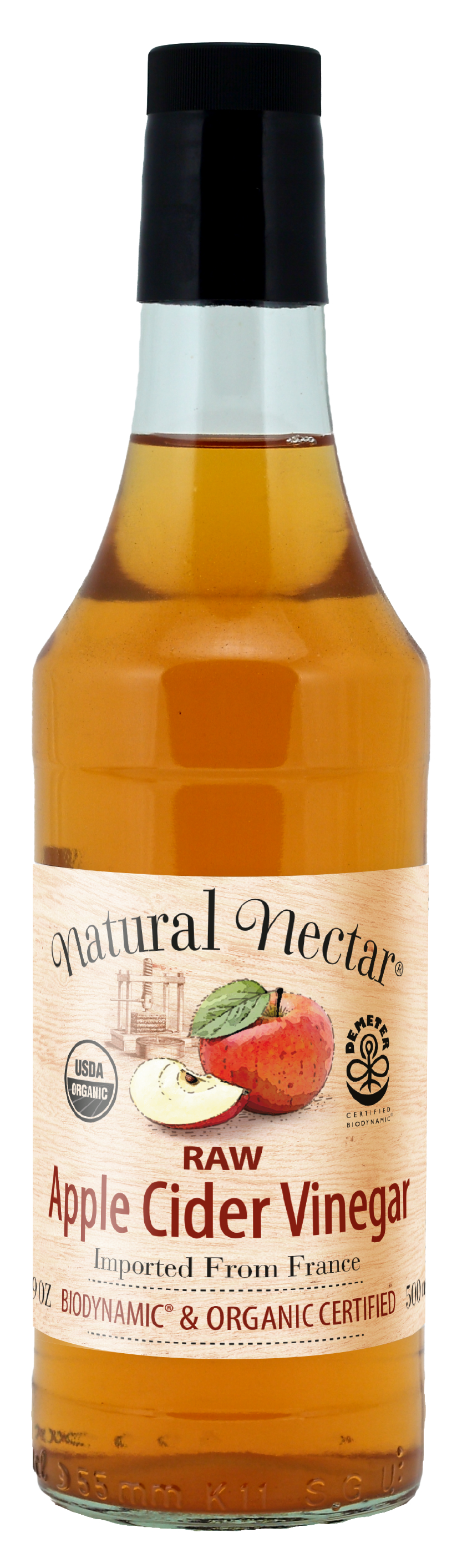 Cider vinegar has been made for centuries in France. For