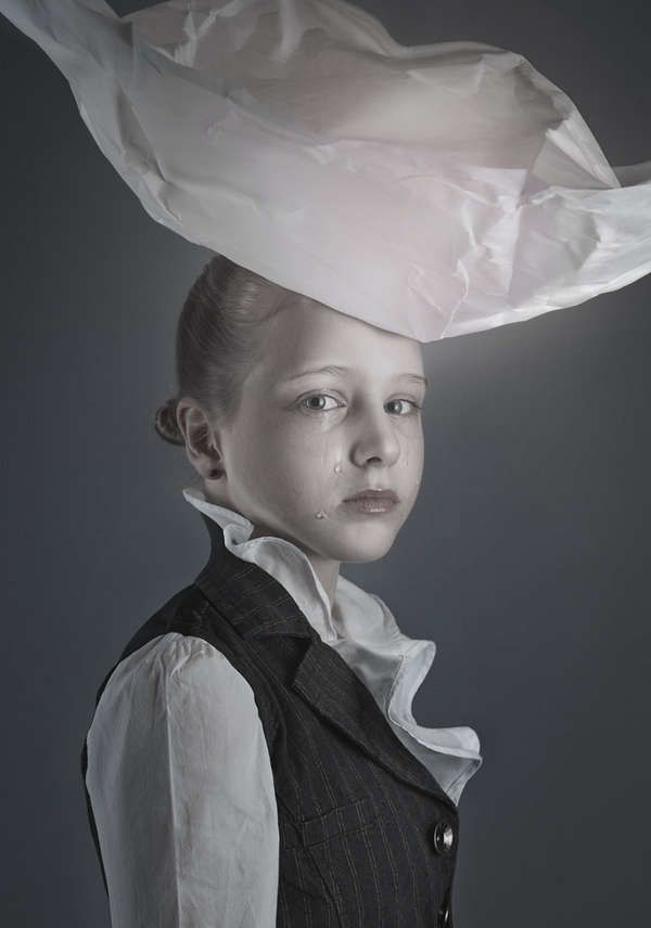 jane eyre by ruadh delone - Jane Eyre by Ruadh DeLone is a collection of eerie, emotion-filled and somber-expression photographs.   The young muse and main subject of the phot...
