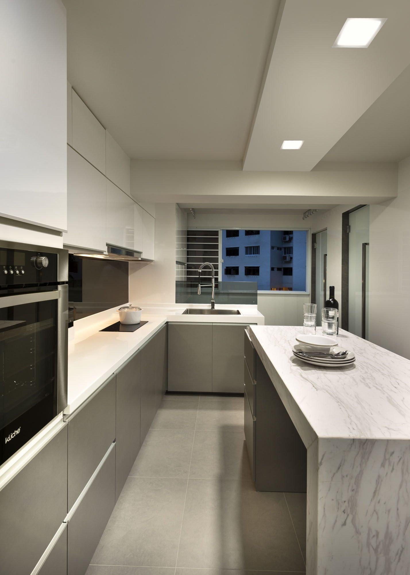 Kitchen Room Interior Design: HDB 4 Rooms At Marine Crescent (With Images)