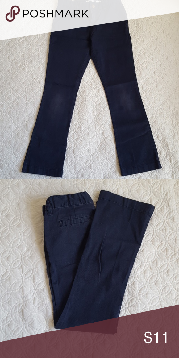 Girls Old Navy Uniform Pant Girls Blue Old Navy Stretch Uniform