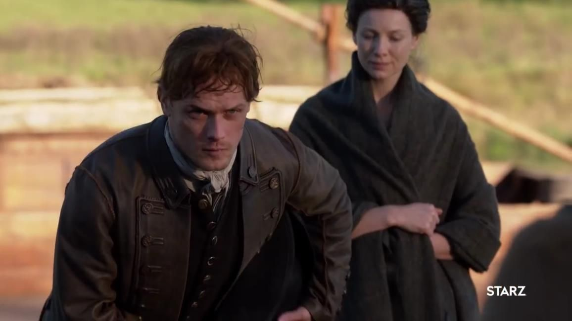 New 590 Hq Screencaps Of The New Outlander Season 4 Trailer No