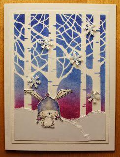 Purple Onion Designs stamps, winter