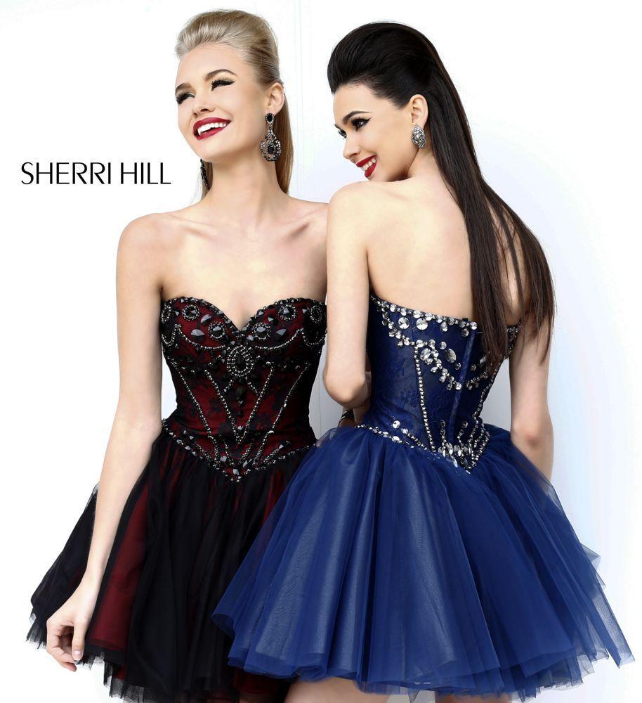 Sherri hill dresses classic class pinterest prom homecoming