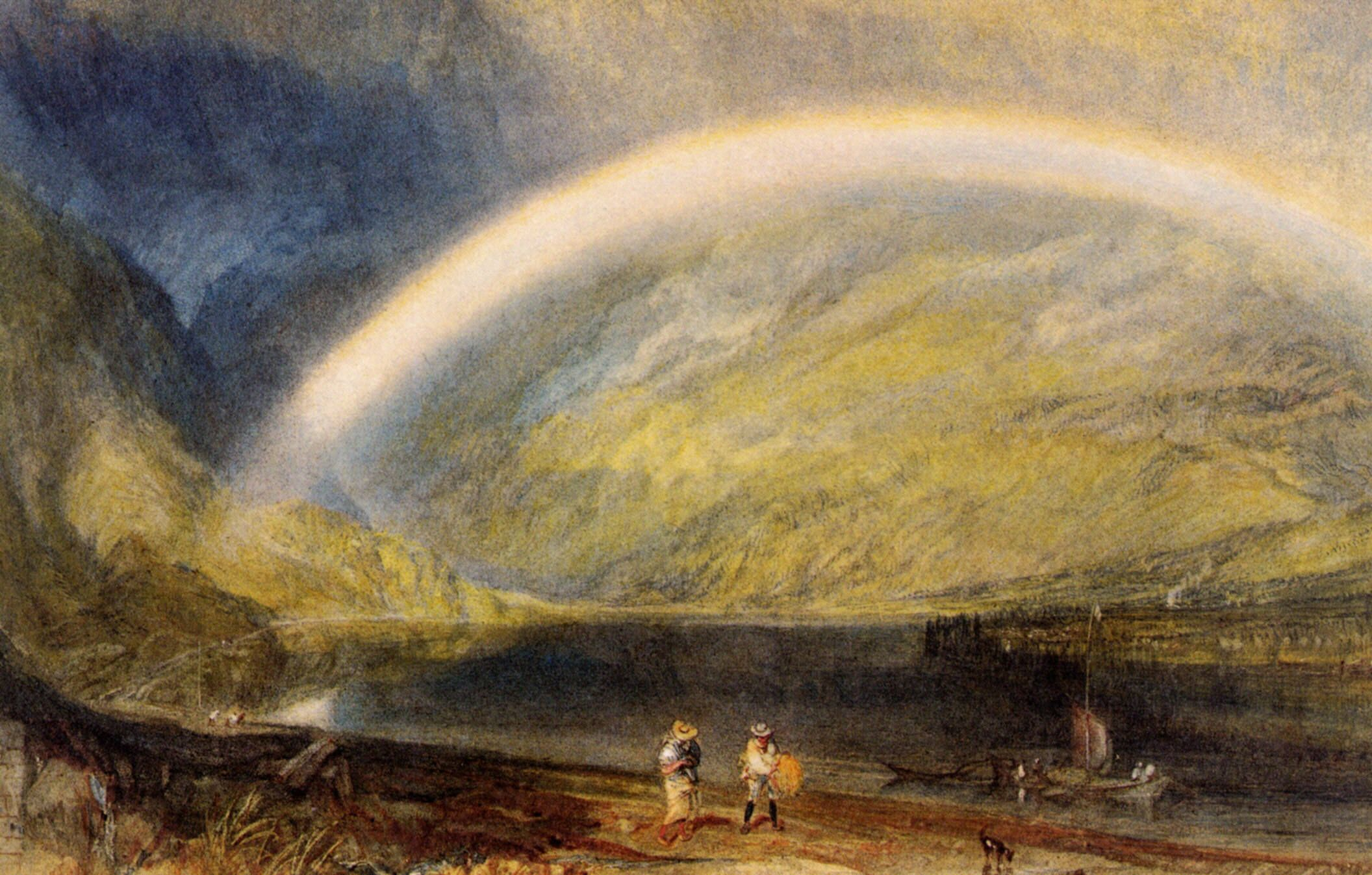 Rainbow William Turner Never Seen This One Would Love To What