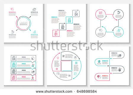 Thin line flat elements for infographic template for diagram graph thin line flat elements for infographic template for diagram graph presentation and chart ccuart Images