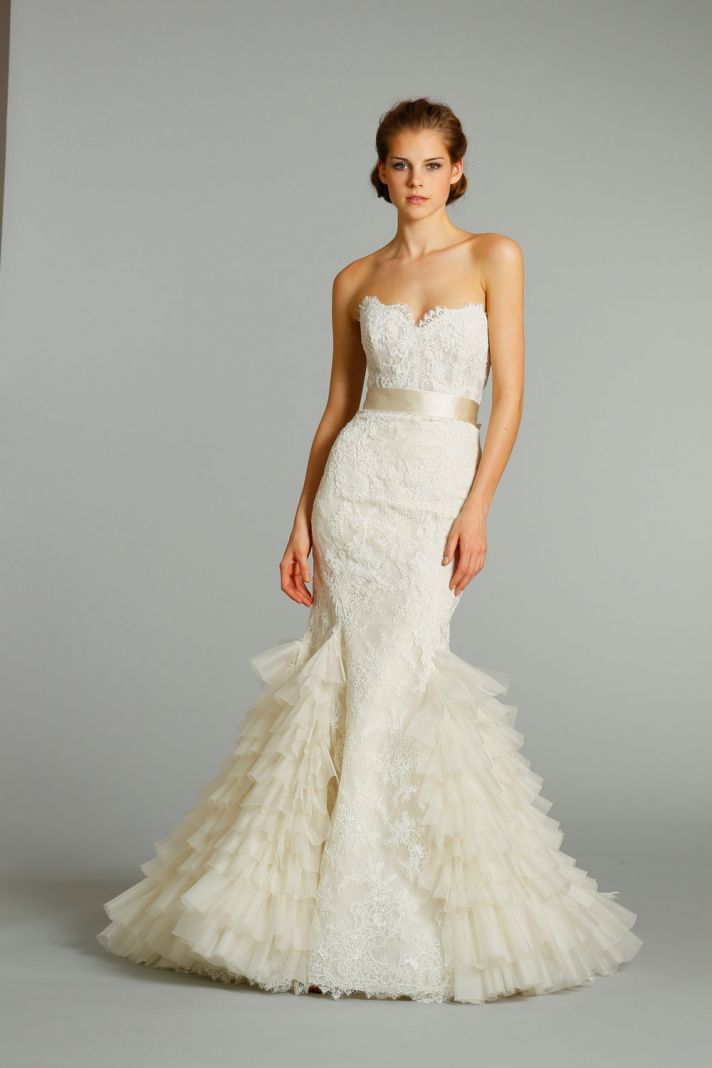 11 Exquisite Wedding Dresses From Lazaro Lazaro Bridal Gown Mermaid Trumpet Wedding Dresses Wedding Dress Prices