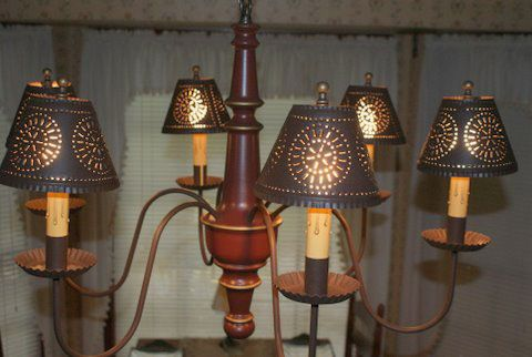 tin lighting fixtures. Punched Tin Lighting. Cut And Pierced Chandelier Shade | Lighting Fixtures N