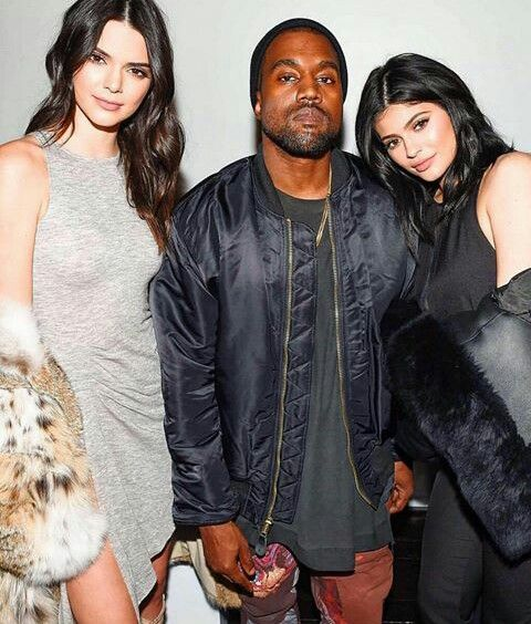 Kendall Kylie and Kany West