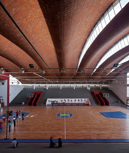 Choose Quality for Safety - This ball court is ready for a lot of use. Great #flooring can be a boon for an #indoor sports team by offering safety. A quality #floor will have no dips or bumps to trip players.