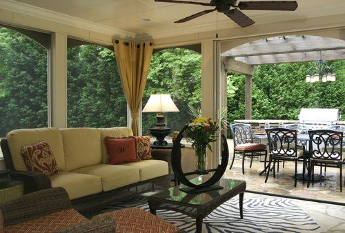deluxe screen porch decor outdoor | screen porches & sunrooms