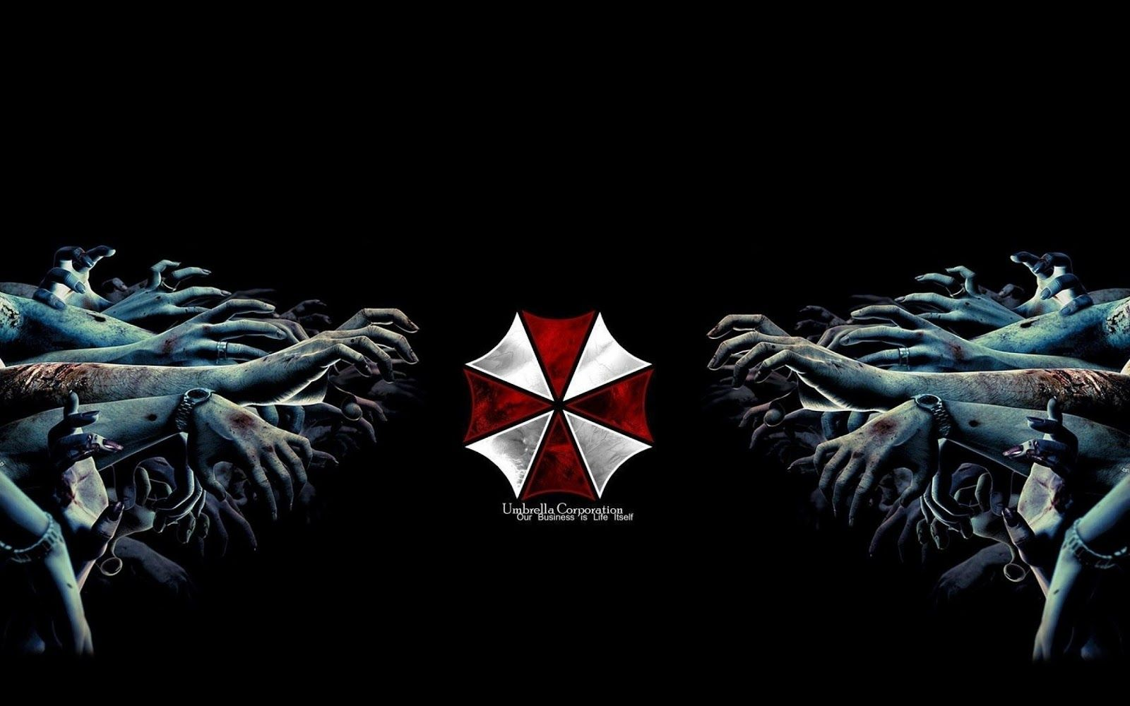 Umbrella Corp Resident Evil Umbrella Corporation Zombie Wallpaper