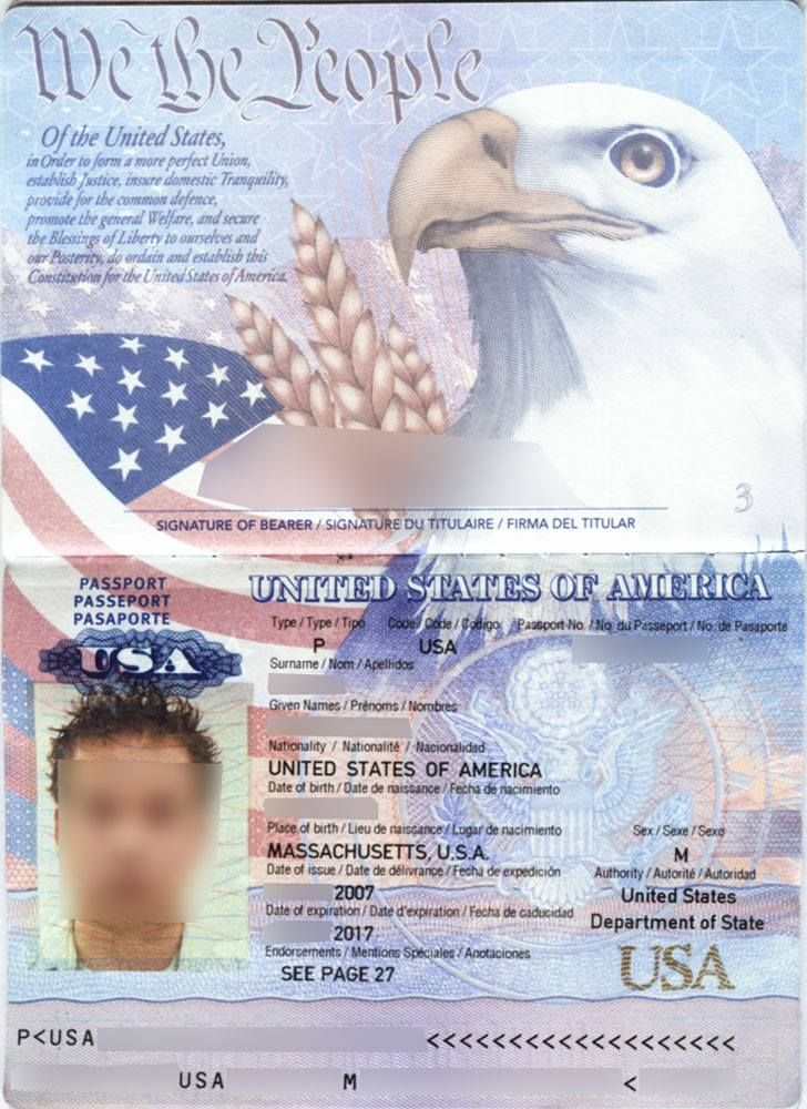 US passport renewal service