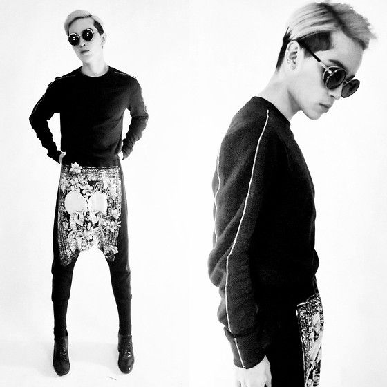 Zara Sweater, Tm Pants, Jeffrey Campbell Shoes