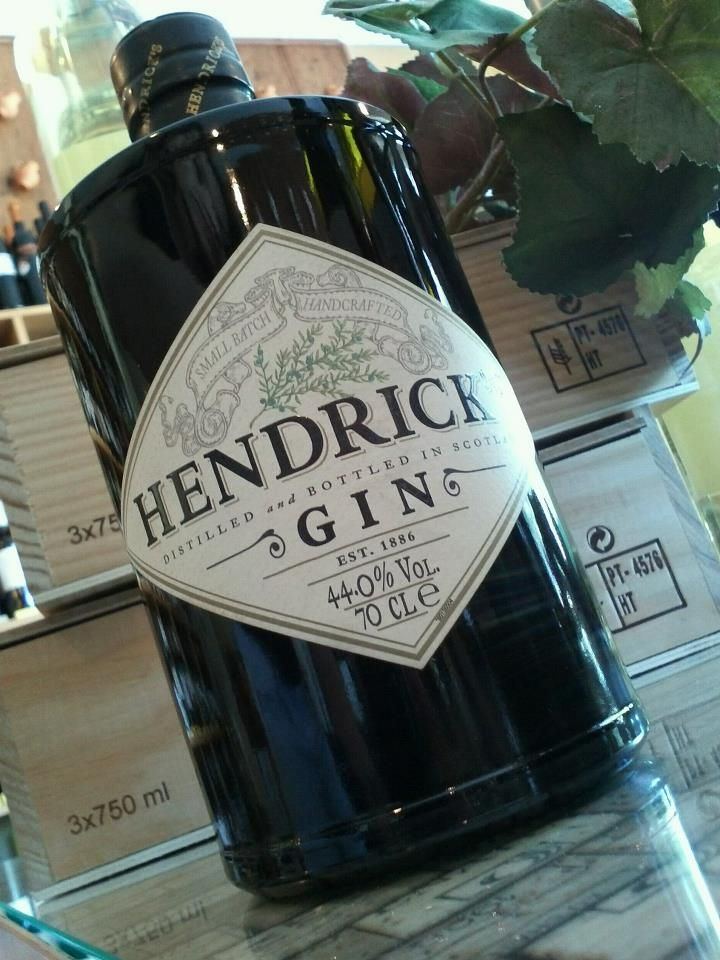 Hendrock's Gin. One of the best, in our store. #wine
