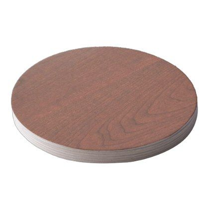 Strange Cherry Wood Cherrywood Look Collection Round Paper Coaster Andrewgaddart Wooden Chair Designs For Living Room Andrewgaddartcom