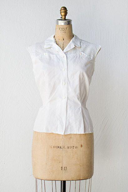 6dfab9fffd10b vintage 1950s blouse